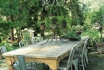 Outdoors / The garden, plants, furniture for outside use and so on.