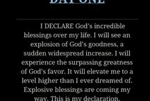 Declarations from God !!