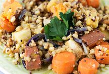 Vegan... not just for January! / Mouthwatering vegan recipes - Lentils and Grains are a vegan's best friend and we have all the recipes and tips to show you how!