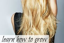 Learn how to grow long hair