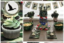 duck dynasty party for dad