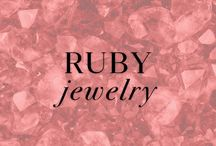 Ruby Jewelry / You can never go wrong with a little Ruby Red! Ruby is also the birthstone for the month of July. Shop some of our favorites at Ice.com / by Ice.com