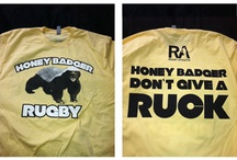 Rugby Athletic Tees and Tanks / A sample of the t-shirts and tanks we've designed and produced under the RA brand!