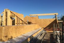Porthleven Timber Frame Project Summer 2015 / Porthleven  A 200m2 140mm timber frame bungalow/ home was the latest project completed by the team at BWF . Topped with a super insulated 180mm SIPS roof this created a superb vaulted ceiling inside and room in the roof . Pre Fabricated at the unit in Truro and rapidly erected on site, the client is delighted with the level of workmanship and quality of the frame .