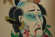 samurai head
