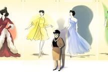 Edith Head Designed for TRUE, REAL, HOLLYWOOD STARS! / A small collection of Edith Head's Designs that spanned the golden age of Hollywood when A Designer was a Designer, an Actor and Actor, and the word Celebrity be definition was someone who's life's work would be Celebrated.