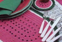 Table Set Crochet