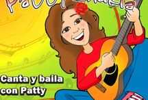 National Hispanic Heritage Month / National Hispanic Heritage Month - celebrate with Spanish songs for children. Learn Spanish colors, Learn the months of the year in Spanish, Learn to stand up and sit down in Spanish, learn body parts in Spanish. Lots of fun songs by Patty Shukla.