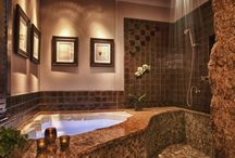 Bathroom ideas  / by Brandi Sholar