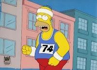 run, fat boy, run / by Candace Landers