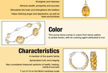 Jewels, gems and crystals