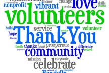 We Love our Volunteers! / You are the backbone of our organization