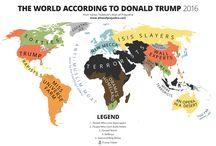 President trump map