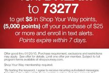 Shop Your Way Rewards Deals / by Super Frugal Stephanie