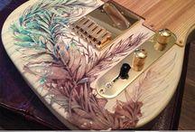 Budowanie gitary / Budowa i ozdabianie gitar