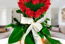 Rosas En Forma De Corazon