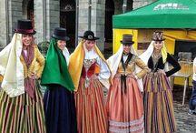 Vestimenta trajes típicos Canarias