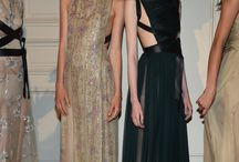 Tulle Leather dresses by Valentino