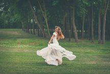 Peace & love / esküvői virágkötészet wedding
