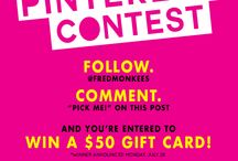 In The Know / Follow us for chances to win some good stuff... / by Monkee's of Fredericksburg