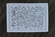 Best Animal Inspired Designs Tea Towels / Animal designs printed onto a tea towel