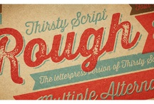 Fonts & Typography / by Kevin Terry