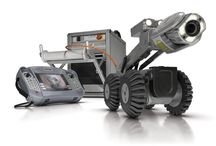 INSPECCION DE TUBERIAS / Robots para fresado e inspección de tuberías equipados con TV oscilo giratorias, permiten analizar el estado de las tuberías in situ.