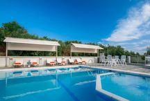 Our pool / The pool of Orizontas Hotel in Kastrosykia, Preveza, Greece.