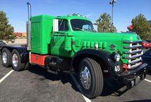 Old Diamond T Trucks