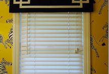 Window coverings / by Susan Raisch