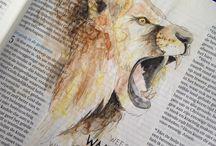 Bible journaling, my bible