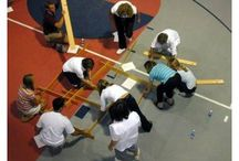 Team Building / Teams rotate through five to eight different activities selected from a multitude of programs customized to meet your unique mission and objectives.  Typically, events utilize non-physical activities unless desired.  The group that works most effectively as a team wins the competition. / by WCF Corporate Events