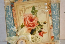 Vintage cards and projects