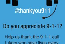 Celebrate 9-1-1 / April is 9-1-1 Education Month. Help us celebrate the first first responders. / by Smart911