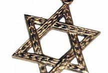 Pendant / http://torgsynjewelry.com/jewelry/pendant/14k-gold-star-of-david-pendant.html