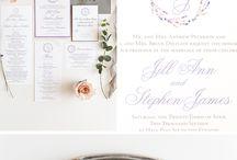 Wedding Stationery / Wedding Invitations and Stationery ideas for NJ NY PA Brides