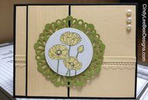 Card / Box - Pleasant Poppies
