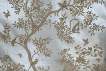 Hand-Painted Wallpaper