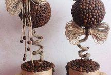 ceașcă din sfoara și cafea