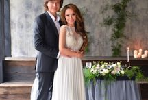 """""""Grey cooper wedding"""" / Beautiful decor in grey color with cooper details"""