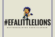 EFA Little Lions / The Little Lions EFA grassroots project (players aged 2-5 years old).