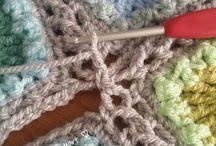 Crochet squares together
