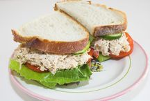 Sandwiches / The sandwich is a delicious staple that offers infinite possibilities and can be consumed for breakfast, brunch, lunch, dinner, supper, or snack.