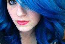 Blu hair