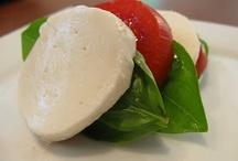 Caprese Salad / The delicious marriage of fresh mozzarella, basil, and tomato