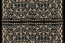 Ikat Woven Fabric Rote