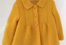 chaleco niña en amarillo