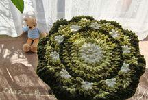 Crochet Seat Cushions - 円座
