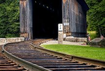 Covered Bridges / by Penny Wofford Lambert (Miss Penny Whistle Creations)