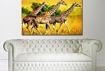 Canvas Art Shop Animals / Animal canvas prints by The Canvas Art Shop. Affordable animal wall art.
